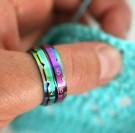 KNITPRO Omgangsteller ring str. 11, 20.6mm - RAINBOW thumbnail