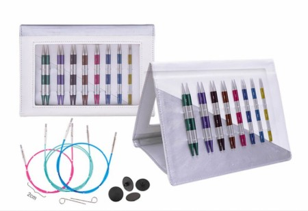 KNITPRO SMARTSTIX INTERCH. NEEDLE TIP SET DELUXE