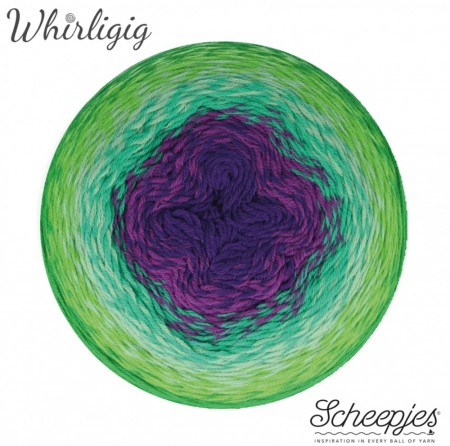 Whirlgig - 208 Green to Purple